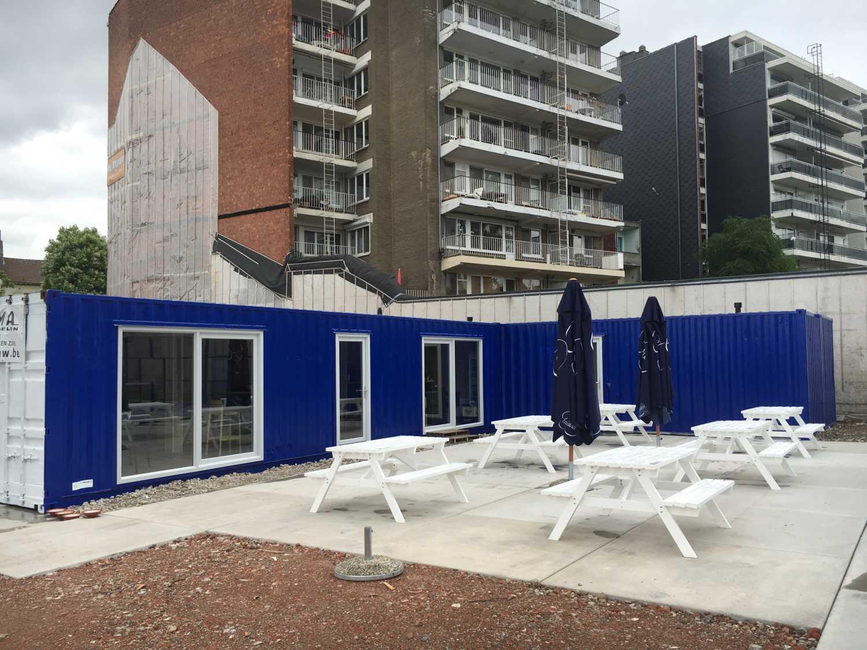 sport club container home Belgium